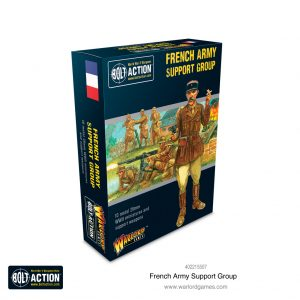 Warlord Games Bolt Action  France (BA) French Army support group - 402215507 - 5060572503281
