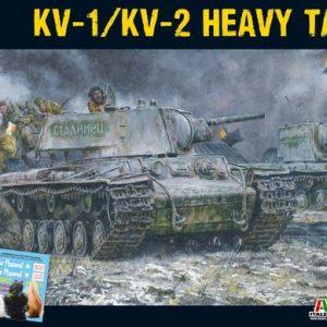 Warlord Games Bolt Action  Soviet Union (BA) Soviet KV1/2 (plastic) - 402014001 - 5060393705697
