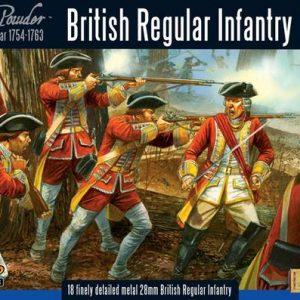Warlord Games Black Powder  American War of Independence British Regular Infantry - WG7-FIW-02 - 5060200844519