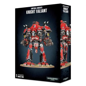 Games Workshop Warhammer 40,000  Imperial Knights Imperial Knights Knight Valiant - 99120108018 - 5011921095704