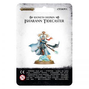 Games Workshop Age of Sigmar  Idoneth Deepkin Idoneth Deepkin, Isharann Tidecaster - 99070219006 - 5011921097470
