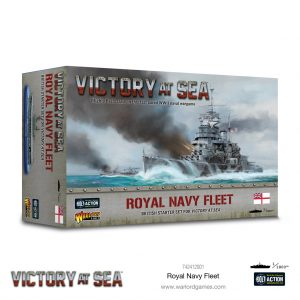 Warlord Games Victory at Sea  Victory at Sea Victory at Sea: Royal Navy Fleet - 742412001 - 5060572505933