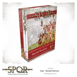 Warlord Games SPQR  SPQR SPQR: Gaul Skyclad Warriors - 152214002 -