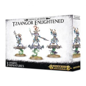 Games Workshop Age of Sigmar  Disciples of Tzeentch Tzeentch Arcanites Tzaangor Enlightened - 99120201064 - 5011921077595