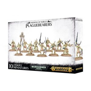 Games Workshop Warhammer 40,000 | Age of Sigmar  Chaos Daemons Plaguebearers of Nurgle - 99129915039 - 5011921085538