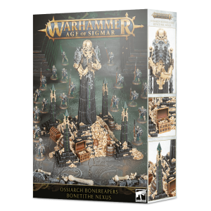 Games Workshop Age of Sigmar  Ossiarch Bonereapers Ossiarch Bonereapers Bone-tithe Nexus - 99120207083 - 5011921129232