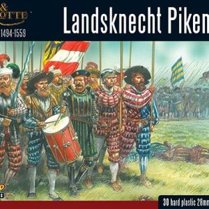 Warlord Games Pike & Shotte  Italian Wars 1494-1559 Landsknechts Pikemen - 202016001 - 5060393707226