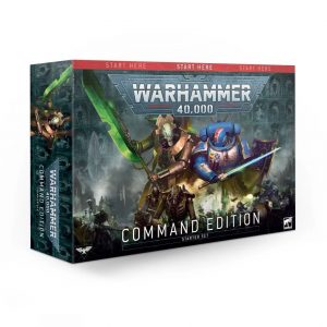 Games Workshop Warhammer 40,000  Warhammer 40000 Essentials Warhammer 40,000 Command Edition - 60010199034 - 5011921133307