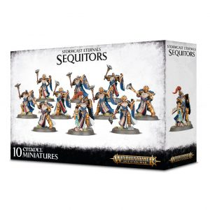 Games Workshop Age of Sigmar  Stormcast Eternals Stormcast Eternals Sequitors - 99120218040 - 5011921104642