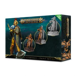 Games Workshop Age of Sigmar  Stormcast Eternals Stormcast Eternals Paint Set - 99170218003 - 5011921102549
