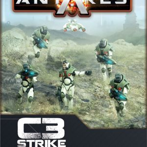 Warlord Games Beyond the Gates of Antares  PanHuman Concord Concord C3 Strike Squad - WGA-CON-01 -