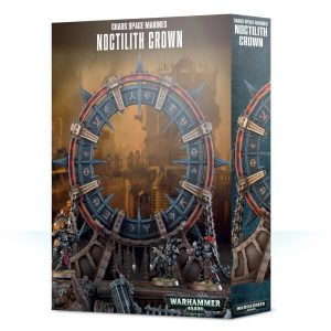 Games Workshop Warhammer 40,000  Chaos Space Marines Chaos Space Marines Noctilith Crown - 99120102106 - 5011921117949