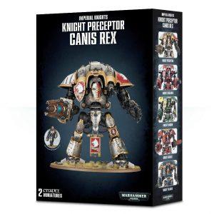 Games Workshop Warhammer 40,000  Imperial Knights Knight Preceptor Canis Rex - 99120108017 - 5011921095698