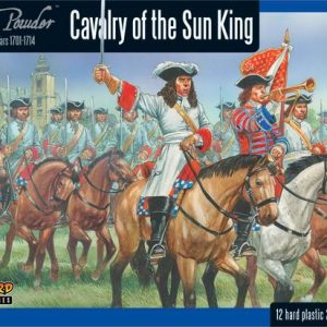 Warlord Games Black Powder  Marlborough's Wars Marlborough's Wars: Cavalry of the Sun King - 302015005 - 5060393704669