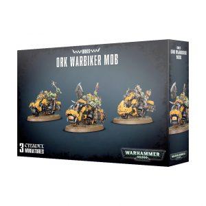 Games Workshop Warhammer 40,000  Orks Ork Warbiker Mob - 99120103057 - 5011921096183