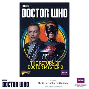 Warlord Games Doctor Who  Doctor Who Doctor Who: The Return of Doctor Mysterio - 602210221 - 5060393706199