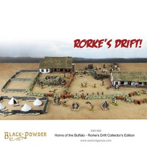 Warlord Games Black Powder  Anglo-Zulu War Horns of the Buffalo - Rorke's Drift collectors edition - 302614602 -