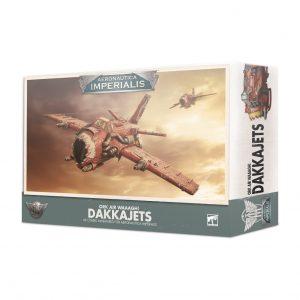 Games Workshop Aeronautica Imperialis  Aeronautica Imperialis Aeronautica Imperialis: Ork Air Waaagh! Dakkajets - 99121803001 - 5011921124077