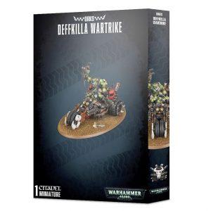 Games Workshop Warhammer 40,000  Orks Orks Deffkilla Wartrike - 99120103063 - 5011921107971