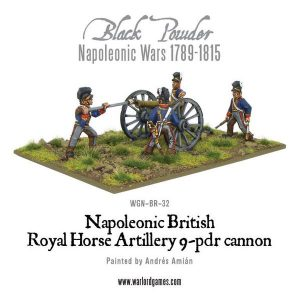 Warlord Games Black Powder  British (Napoleonic) British Horse Artillery 9-pdr Cannon - WGN-BR-32 - 5060200849217