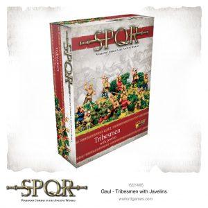 Warlord Games SPQR  SPQR SPQR: Gaul Tribesmen with Javelins - 152214005 -