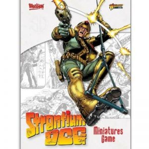 Warlord Games Strontium Dog  Strontium Dog Strontium Dog A4 Rulebook - 641010002 - 9781911281412