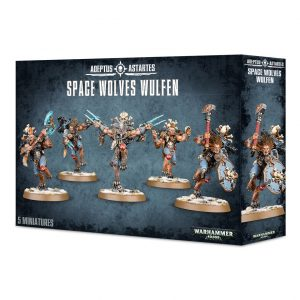 Games Workshop Warhammer 40,000  Space Wolves Space Wolves Wulfen - 99120101349 - 5011921149216
