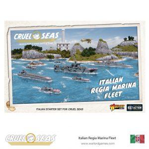 Warlord Games Cruel Seas  Cruel Seas Cruel Seas: Italian Regia Marina Fleet - 782612002 - 5060393709701