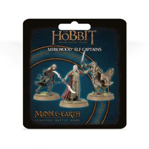 Games Workshop (Direct) Middle-earth Strategy Battle Game  Good - The Hobbit The Hobbit: Mirkwood Elf Captains - 99801463025 -