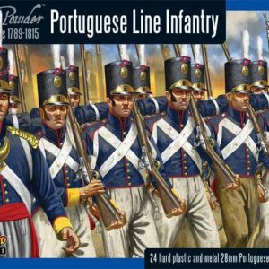 Warlord Games Black Powder  British (Napoleonic) Portugese Line Infantry - WGN-PO-01 - 5060393700876