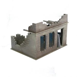 Warlord Games   Warlord Games Terrain Small Destroyed North Africa House - N110 - 5060572501430