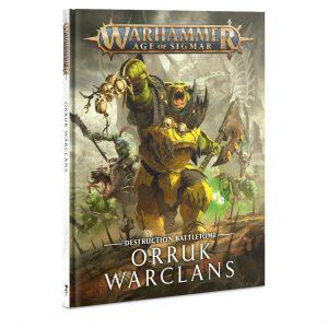 Games Workshop Age of Sigmar  Orruk Warclans Battletome: Orruk Warclans - 60030209011 - 9781788268332