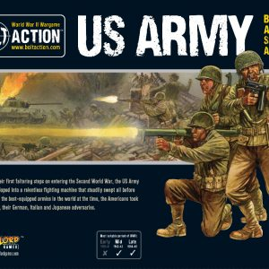Warlord Games Bolt Action  United States of America (BA) US Army Starter Army - 409913016 - 5060572502321