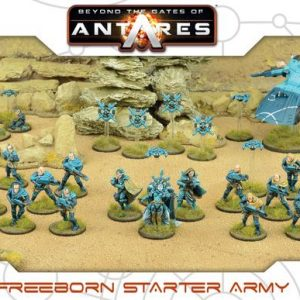 Warlord Games Beyond the Gates of Antares  Freeborn Freeborn Starter Army - 509914003 - 5060393706243