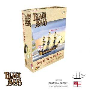 Warlord Games Black Seas  Black Seas Black Seas: Royal Navy 1st Rate - 792411003 - 5060572505742