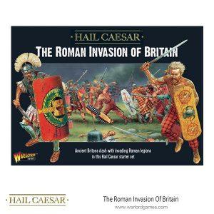 Warlord Games Hail Caesar  Imperial Romans Hail Caesar: The Roman Invasion of Britain - 101510001 - 5060393708414