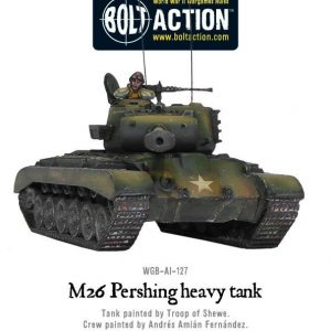 Warlord Games Bolt Action  United States of America (BA) M26 Pershing Heavy Tank - WGB-AI-127 - 5060200848623