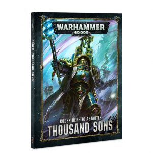 Games Workshop Warhammer 40,000  Thousand Sons Codex: Thousand Sons - 60030102019 - 9781788261418
