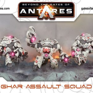 Warlord Games Beyond the Gates of Antares  Ghar Empire Ghar Assault Squad (Plastic) - WGA-GAR-06 - 5060393703037
