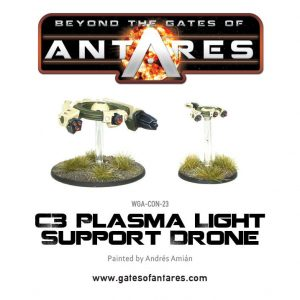 Warlord Games Beyond the Gates of Antares  PanHuman Concord Concord C3 Plasma Light Support Drone - WGA-CON-23 - 5060393700227