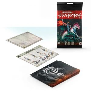 Games Workshop Warcry  Warcry Warcry: Idoneth Deepkin Card Pack - 99220219002 - 5011921121038