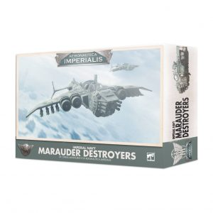 Games Workshop Aeronautica Imperialis  Aeronautica Imperialis Aeronautica Imperialis: Imperial Navy Marauder Destroyers - 99121808003 - 5011921124060