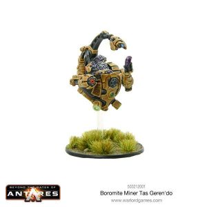 Warlord Games Beyond the Gates of Antares  Boromite Guilds Boromite Miner Tas Geren'do - 503212001 - 5060393707271