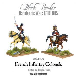 Warlord Games Black Powder  French (Napoleonic) Mounted French Colonels - WGN-FR-24 - 5060200844663