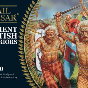Warlord Games Hail Caesar  Enemies of Rome Ancient British Warriors - 102011801 - 5060393706427
