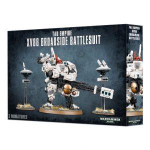 Games Workshop Warhammer 40,000  T'au Empire T'au XV88 Broadside Battlesuit - 99120113063 - 5011921091973