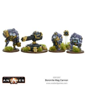 Warlord Games Beyond the Gates of Antares  Boromite Guilds Boromite Mag Cannon - 503012007 - 5060393705918