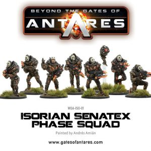 Warlord Games Beyond the Gates of Antares  Isorian Senatex Isorian Senatex Phase Squad - WGA-ISO-01 - 5060393700258