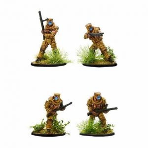 Warlord Games Konflikt '47  Japan (K47) Japanese Ghost Warriors with SMG's - 453011201 - 5060393707998