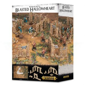 Games Workshop   Age of Sigmar Terrain Realm of Battle: Blasted Hallowheart - 99220299067 - 5011921089826
